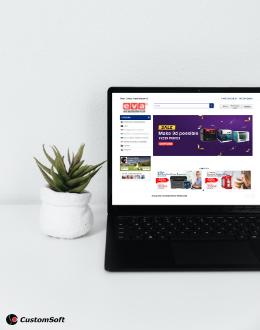 Eva e-commerce desktop
