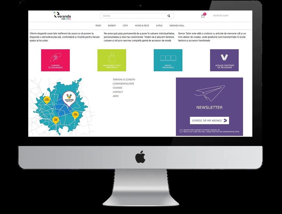 Veranda Mall website